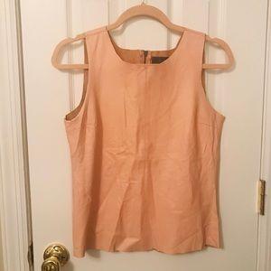 Pink PJK Paterson J Kincaid leather tank top